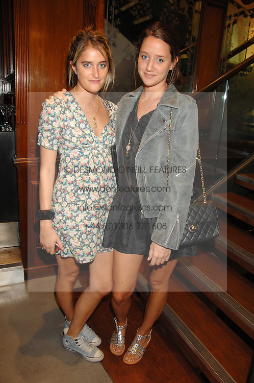 Left to right, VIOLET VON WESTENHOLZ and INDIA LANGTON at a party to celebrate the launch of Diesel's new mens & womens fragrances 'Fule for Life' at their newly reopened store on the Kings Road, London on 13th September 2007.<br /><br />NON EXCLUSIVE - WORLD RIGHTS