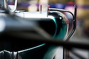 November 21-23, 2014 : Abu Dhabi Grand Prix, Mercedes detail