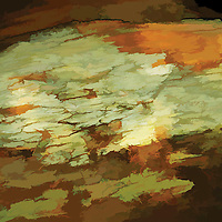 Abstact image, earthy colors.