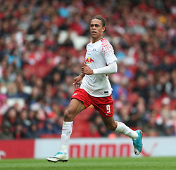 29 July 2017 London : Emirates Cup - RB Leipzig v Sevilla :<br /> Yussuf Poulsen of RB.<br /> Photo: Mark Leech