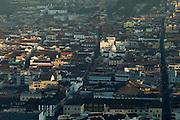 View of the Centro Historico at sunrise, Quito, Ecudor