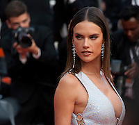 Alessandra Ambrosio at the gala screening for the film The Unknown Girl (La Fille Inconnue) at the 69th Cannes Film Festival, Wednesday 18th May 2016, Cannes, France. Photography: Doreen Kennedy