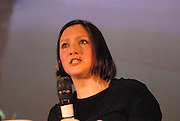 'Take Back Our World' Conference.<br /> Launch of the 'Global Justice Now' group, formally the 'World Development Movement'.<br /> 'Art capitalism and social change' session.<br /> Mel Evans, an activist with Liberate Tate and author of 'Artwash: Big Oil and the arts'.
