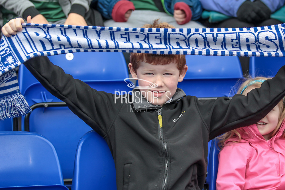 It looks close to a National League record crowd to watch the Tranmere Aldershot Town game before the Vanarama National League second leg play off match between Tranmere Rovers and Aldershot Town at Prenton Park, Birkenhead, England on 6 May 2017. Photo by Mark P Doherty.