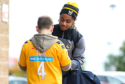 Paolo Odogwu of Wasps arrives at The Ricoh Arena for the Premiership Cup fixture with Worcester Warriors - Mandatory by-line: Robbie Stephenson/JMP - 12/10/2019 - RUGBY - Ricoh Arena - Coventry, England - Wasps v Worcester Warriors - Premiership Rugby Cup