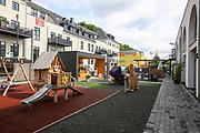 Ludwigshafen. 11.07.17   depotLU<br /> depotLU. In einem ehemaligen Stra&szlig;enbahndepot hat Investorin Birgit St&auml;rk neues Leben eingehaucht. Neben Exklusiven L&auml;den, gibt es Wohnungen und Firmenr&auml;ume.<br /> <br /> <br /> BILD- ID 0026  <br /> Bild: Markus Prosswitz 11JUL17 / masterpress (Bild ist honorarpflichtig - No Model Release!)
