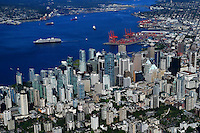 Downtown Vancouver & Burrard Inlet (#2)