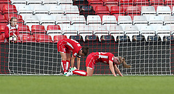 Dejection for Bristol City Women as the go 0-3 down - Mandatory by-line: Gary Day/JMP - 22/04/2017 - FOOTBALL - Ashton Gate - Bristol, England - Bristol City Women v Reading Women - FA Women's Super League 1 Spring Series