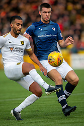 Livingston Aymen Souda and Raith Rovers Dave McKay. Livingston 3 v 1 Raith Rovers, William Hill Scottish Cup played 18/1/2020 at the Livingston home ground, Tony Macaroni Arena.