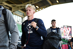 Toby Fricker and the rest of the Bristol Bears team arrive at the Stoop - Mandatory byline: Patrick Khachfe/JMP - 07966 386802 - 20/09/2019 - RUGBY UNION - The Twickenham Stoop - London, England - Harlequins v Bristol Bears - Premiership Rugby Cup