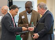 Houston ISD Business Assistance Supplier Diversity networking meeting at Carnegie Vanguard High School, June 11, 2014.