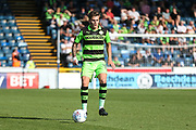 Forest Green Rovers Charlie Cooper(15) during the EFL Sky Bet League 2 match between Wycombe Wanderers and Forest Green Rovers at Adams Park, High Wycombe, England on 2 September 2017. Photo by Shane Healey.
