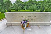 Duitsland, Kleef, 12-6-2017Vlak over de grens met Nederland ligt hier een Engelse begraafplaats, oologskerkhof van het gemenebest, commonwealth, waar uitsluitend piloten en vliegeniers, vliegtuigbemanningen, begraven zijn. Ook de neergeschoten,neergestortte, fameuze DambustersFoto: Flip Franssen