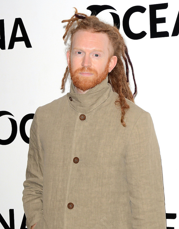 Newton Faulkner attends Oceana's Junior Ocean Council - Fashions For the Future at Phillips Auction House, Berkeley Square, London on Thursday 19 March 2015