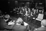 16/09/1968<br /> 09/16/1968<br /> 16 September 1968<br /> Japanese travel agents at the Montrose Hotel, Dublin, for a presentation on holidays in Ireland fore Bord Failte.