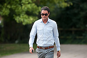 Jack Tweed arrives at Redbridge Magistrates court in Essex on August 03rd 2011..Jade Goody's widower, 23, appears charged with threatening and abusive behaviour, in relation to an alleged incident outside Deuces Bar and Lounge, in Chigwell, Essex, on January 3. Appearing alongside are Tweed's younger brother Lewis, 20, and friend Mark Wright, 24, who appeared on reality TV show The Only Way Is Essex...