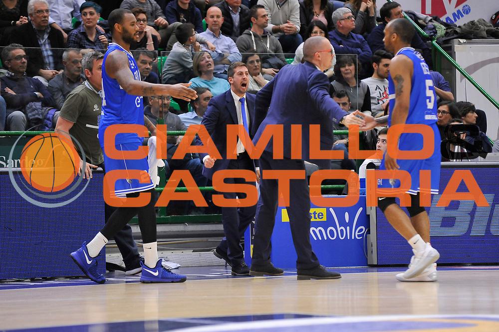 Marco Esposito<br /> Banco di Sardegna Dinamo Sassari - Enel New Basket Brindisi<br /> LegaBasket Serie A LBA Poste Mobile 2016/2017<br /> Sassari 02/04/2017<br /> Foto Ciamillo-Castoria