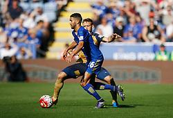 Riyad Mahrez of Leicester City   - Mandatory byline: Jack Phillips/JMP - 07966386802 - 26/09/2015 - SPORT - FOOTBALL - Leicester - King Power Stadium - Leicester City v Arsenal - Barclays Premier League