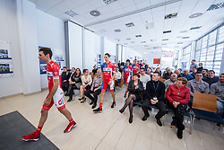 Radoslav Rogina during press conference of KK Adria Mobil Cycling Club before new season 2018, on February 22, 2018 in Novo mesto, Slovenia. Photo by Vid Ponikvar / Sportida