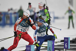 February 10, 2018 - Pyeongchang, GANGWON, SOUTH KOREA - Feb 10, 2018-Pyeongchang, South Korea-Weronika NOWAKOWSKAof Polska action on the snow during an Olympic Biathlon Women Sprint 7.5Km at Biathlon Center in Pyeongchang, South Korea. (Credit Image: © Gmc via ZUMA Wire)