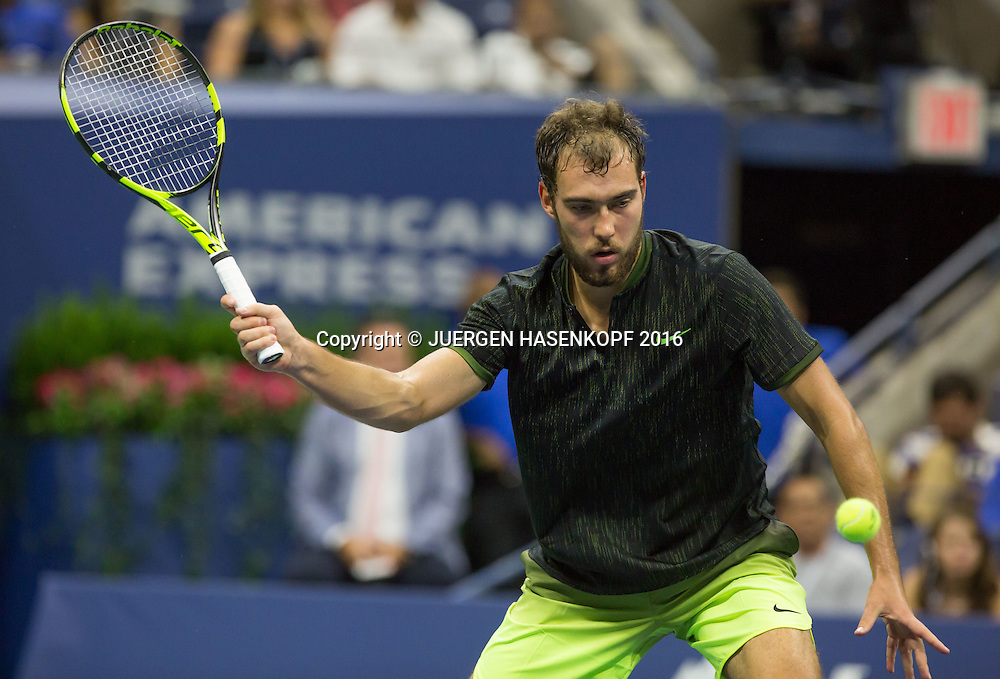JERZY JANOWICZ (POL)<br /> <br /> Tennis - US Open 2016 - Grand Slam ITF / ATP / WTA -  Flushing Meadows - New York - New York - USA  - 30 August 2016.