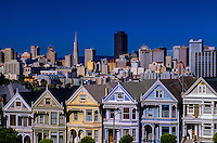 Alamo Square, San Francisco, California USA