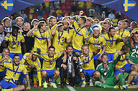 FUSSBALL: UEFA  U21-EUROPAMEISTERSCHAFT  2015  FINALE Schweden - Portugal     30.06.2015  Schweden ist Europameister 2015