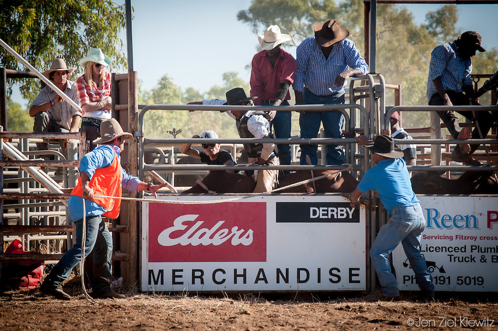 Images from Rodeos in the Kimberly Region of Australia, taken from 2012-2014, in the small Outback towns of Fitzroy Crossing, Derby, and Broome.