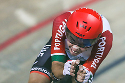 March 1, 2019 - Pruszkow, Poland - Ivo Oliveira (POR) competes in the Men's Individual Pursuit Qualifying race on day three of the UCI Track Cycling World Championships held in the BGZ BNP Paribas Velodrome Arena on March 01, 2019 in Pruszkow, Poland. (Credit Image: © Foto Olimpik/NurPhoto via ZUMA Press)