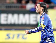 FC Luzern captain Hakan YAKIN is pictured during the AXPO Super League (National League A) soccer match between FC Luzern (FCL) and FC Basel (FCB) at the Gersag stadium in Emmenbruecke, Switzerland, Sunday, February 27, 2011. (Photo by Patrick B. Kraemer / MAGICPBK)