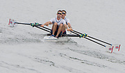 "Rio de Janeiro. BRAZIL.   GBR LM2X. Bow William FLETCHER and Richard CHAMBERS, move away from the start in their heat at the 2016 Olympic Rowing Regatta. Lagoa Stadium,<br /> Copacabana,  ""Olympic Summer Games""<br /> Rodrigo de Freitas Lagoon, Lagoa.   Monday  08/08/2016 <br /> <br /> [Mandatory Credit; Peter SPURRIER/Intersport Images]"