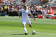 Real Madrid Midfielder Gareth Bale shoots at goal during the AON Tour 2017 match between Real Madrid and Manchester United at the Levi's Stadium, Santa Clara, USA on 23 July 2017.