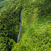 Waimanu Valley is a remote valley on the northwest coast of Hawaiʻi island.