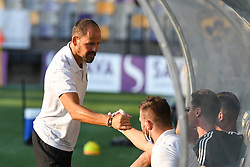 Ante Simundza, head coach of NS Mura during friendly football match between NK Maribor and NS Mura, on August 12, 2020 in Ljudski vrt Maribor, Slovenia. Photo by: Milos Vujinovic /Sportida