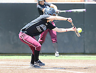 May 10, 2014: The Central Baptist College Mustangs play against the Oklahoma Christian University Lady Eagles in the NCCAA Central Region Tournament  at Lawson Plaza on the campus of Oklahoma Christian University.