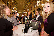 Vienna, Austria. Cocktail reception hosted by Mayor Michael Häupl at City Hall for international scientists and researchers living and working in Vienna.