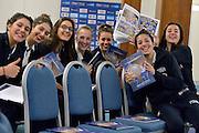team under 17<br /> Stelle d'Argento a Lucca. Premiazione Under 17 e Under 20 Femminili<br /> FIP 2016<br /> Lucca, 18/11/2016<br /> Foto Ciamillo - Castoria