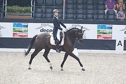Van Der Panne Veronique, (NED), Boy Bentley<br /> Roelofsen Horse Trucks Prijs - Juniors Team Test<br /> Dutch Championship Dressage - Ermelo 2015<br /> © Hippo Foto - Dirk Caremans<br /> 17/07/15