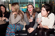 CAREY BUCHANAN; SOPHIE BUTLER; JULIA DIAS, ? The launch screening of &Ocirc;Animal Charm&Otilde;  and &Ocirc;Susie Lovitt&Otilde; - W hotel leicester sq. London. 31 January 2012.<br /> CAREY BUCHANAN; SOPHIE BUTLER; JULIA DIAS, ? The launch screening of &lsquo;Animal Charm&rsquo;  and &lsquo;Susie Lovitt&rsquo; - W hotel leicester sq. London. 31 January 2012.