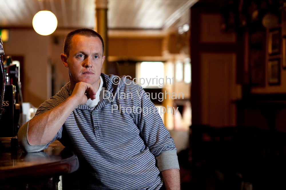 6/8/2009.Michael Kavanagh pictured in the family pub in Freshford county Kilkenny..Picture Dylan Vaughan.
