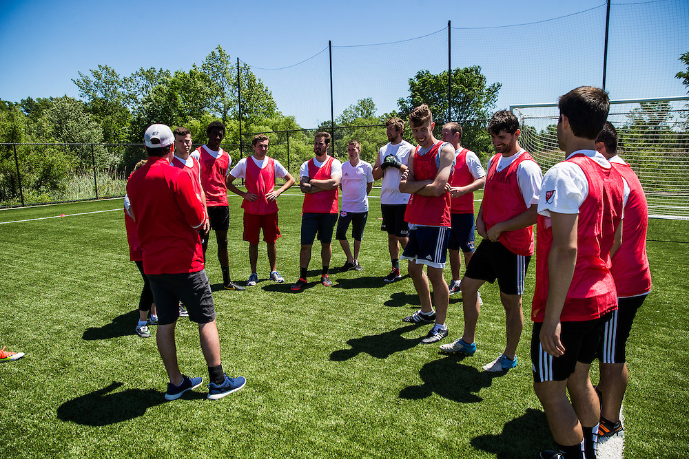 HANOVER, NJ - JUNE 10:  FO Cup at Red Bulls Practice Facility on June 10, 2016. (Photo By: Rob Tringali)