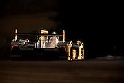 Lucas Luhr and Klaus Graf, Muscle Milk Pickett Racing (P1) Honda HDP ARX-03a, Petit Le Mans. Oct 18-20, 2012. © Jamey Price