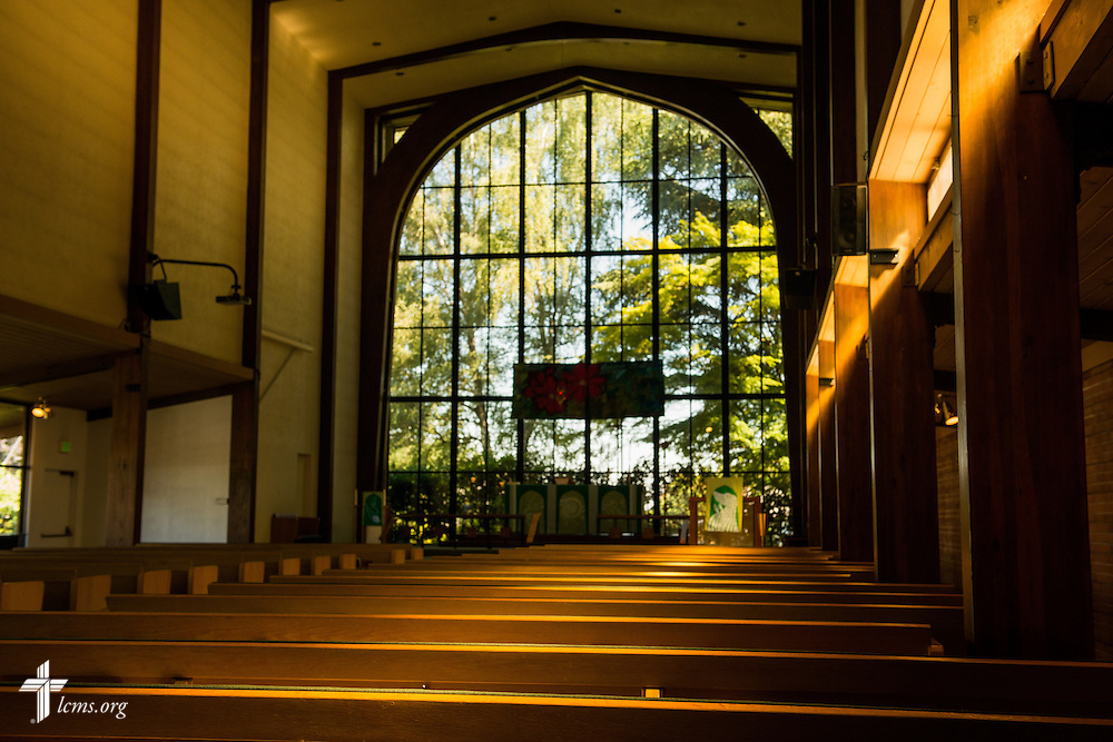 The chapel of St. Michael's Lutheran Church, adjacent to Concordia University on Friday, July 11, 2014, in Portland, Ore. LCMS Communications/Erik M. Lunsford