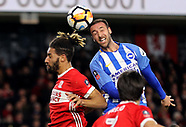 Middlesbrough v Brighton and Hove Albion - 27 January 2018