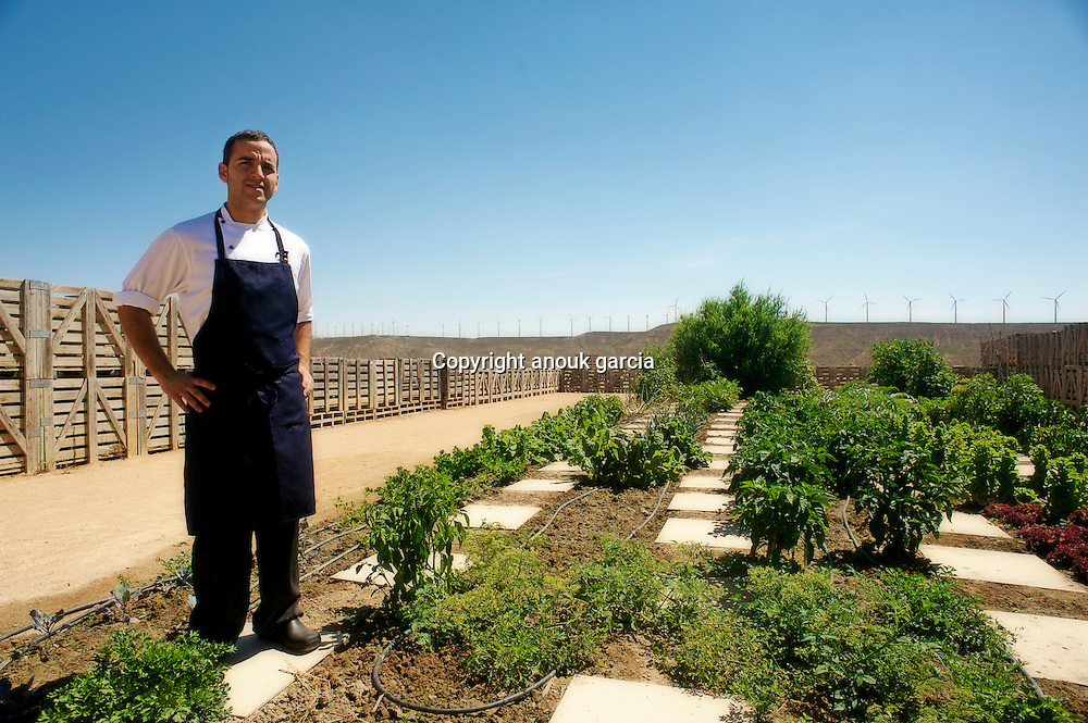 In the plate the young chief David Gonzales is given some to heart joy, it.has with some steps from there of best vegetables Spain. Benefitting from.the old Arab works of the irrigation of Elbre the quality and the variety of the.fruits of this ground opened the first cabins of Nouvelle Cuisine to the.gastronomy of Navarre..www.airedebardenas.com | Dans l'assiette le jeune chef David Gonzales s'en donne.a coeur joie, il dispose a quelques pas de la, des meilleurs legumes.d'Espagne. Profitant des anciens ouvrages arabes de l'irrigation de l'Elbre la.qualite et la variete des fruits de cette terre ont ouvert les premiere loges de.la Nouvelle Cuisine a la gastronomie de Navarre. www.airedebardenas.com.