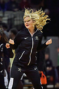 Vanderbilt Commodores dance team member performs during the second half of a NCAA college basketball game against the Alcorn State Braves in Nashville, Tenn., Friday, Nov 16, 2018. Vanderbilt won 79-54. (Jim Brown/Image of Sport)