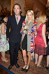 RORY GUINNESS and IDINA MONCRIEFFE at the Tatler Best of British party in association with Jaegar held at The Ritz, Piccadilly, London on 28th April 2015.