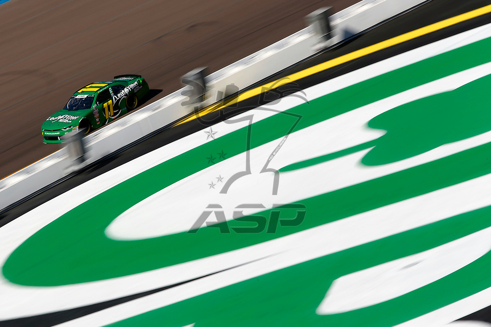 Ryan Truex (11) takes to the track to practice for the Whelen Trusted to Perform 200 at ISM Raceway in Avondale, Arizona.