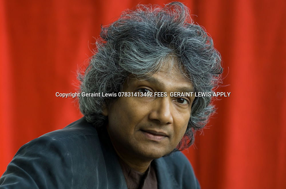 Romesh Gunesekera,Sri Lankan author.Writes about cricket CREDIT Geraint Lewis