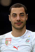 Football Fifa Brazil 2014 World Cup / <br /> Algeria National Team - <br /> Mehdi Lacen of Algeria